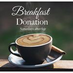 Breakfast donation